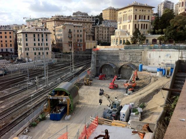 Interpellanza su nodo ferroviario di Genova